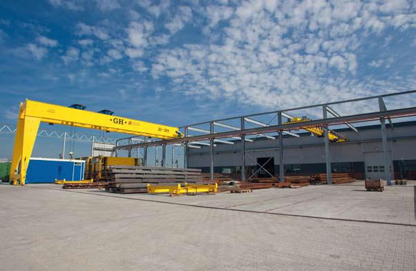 Crane rail - overhead crane - workshop Bemo Rail