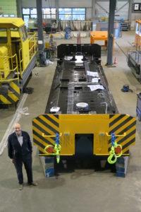 Tata Steel GE loc